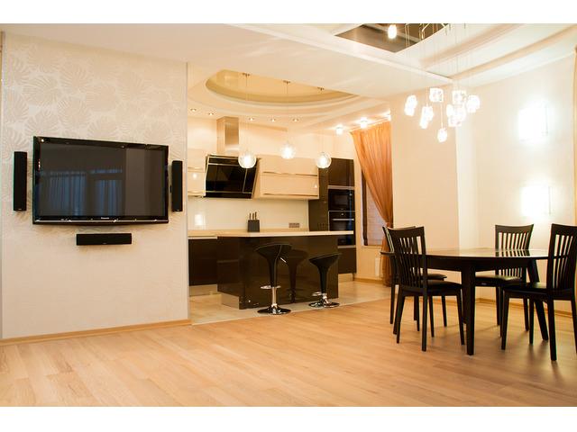 Большая квартира с евроремонтом